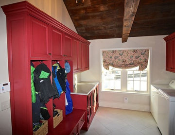 Mudroom makeover