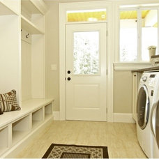 Contemporary Laundry Room by Out Of Line Designs