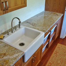 Transitional Laundry Room by Today's Kitchens