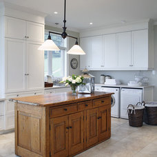 Traditional Laundry Room by Jacqueline Glass and Associates