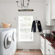 Traditional Laundry Room by CJ Riley Builder Inc.