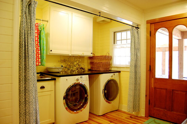 Rustic Laundry Room by Corynne Pless
