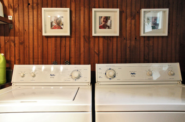 Eclectic Laundry Room by Laura Garner