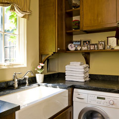 traditional laundry room by Cynthia Lynn Photography