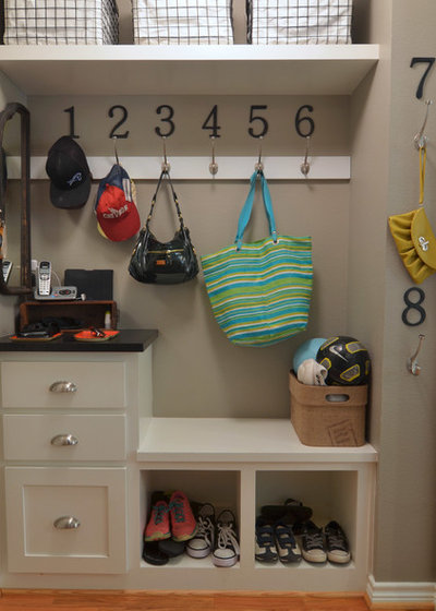 Traditional Laundry Room by Sarah Greenman