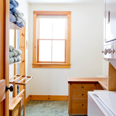Eclectic Laundry Room by Rikki Snyder