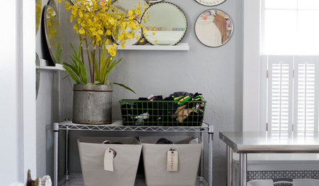 How to Stylishly Integrate a Laundry Space