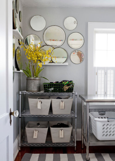 Eclectic Utility Room by Rikki Snyder