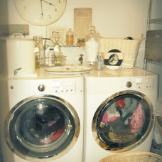 Eclectic Laundry Room by mylovelylittlelulu