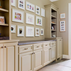 Traditional Laundry Room by Dovetail Homes