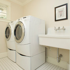 Traditional Laundry Room by Richardson Homes Ltd