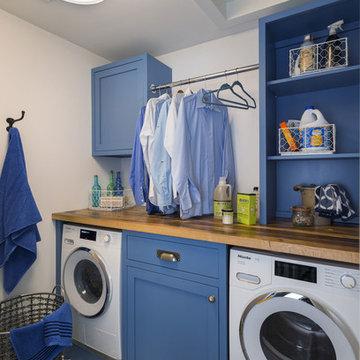Narragansett, Rhode Island - Farmhouse - Laundry Room Countertop