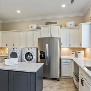 Inspiration for a traditional laundry room in Nashville.