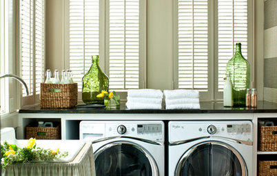 New This Week: 3 Eye-Catching Laundry Rooms