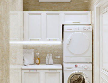 Neat Little Laundry Room