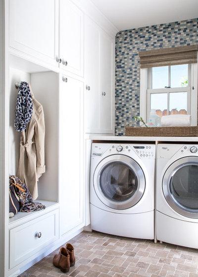 Classique Chic Buanderie by Amy Peltier Interior Design & Home