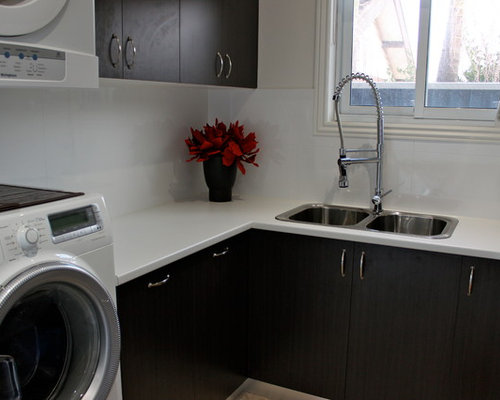 spray faucet laundry room design ideas pictures remodel