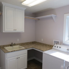 Traditional Laundry Room by KRT Construction