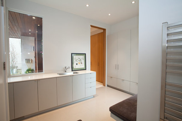 Contemporary Laundry Room by South Park Design Build