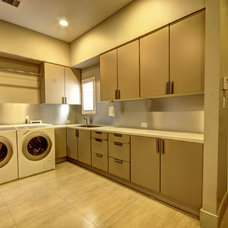 Modern Laundry Room by Fairmont Homes