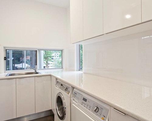 buanderie moderne multi usage photos et id es d co de. Black Bedroom Furniture Sets. Home Design Ideas
