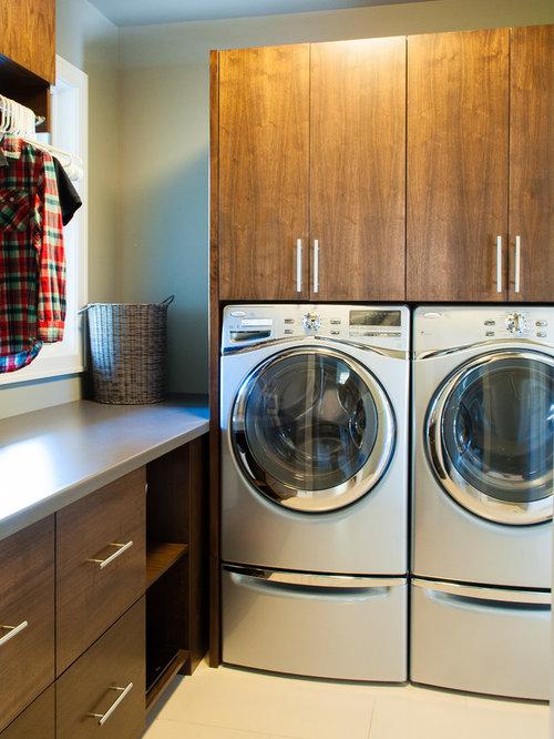 home minimalist laundry room design ideas renovations photos