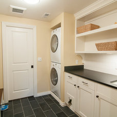 Traditional Laundry Room by Westhill Inc