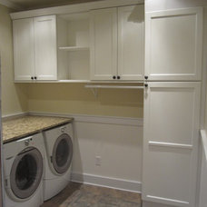 Traditional Laundry Room by Lux Renovations