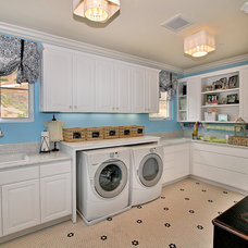 contemporary laundry room by Tina Kuhlmann