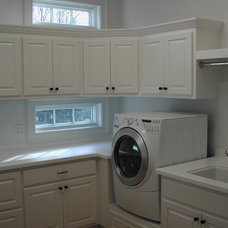 Traditional Laundry Room by Old Mill Cabinet Co.
