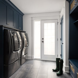 North Lincoln mudroom / laundry room