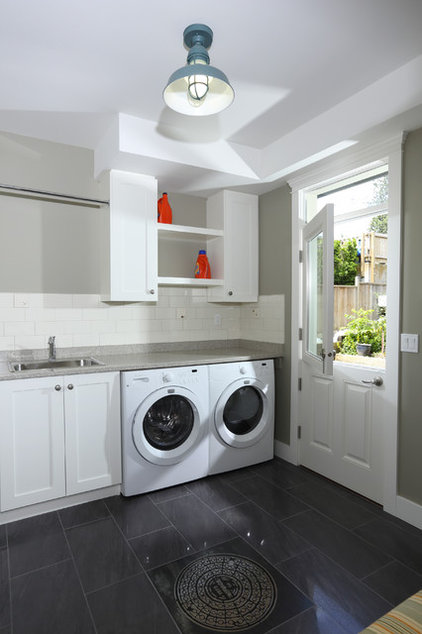 Traditional Laundry Room by Wallmark Custom Homes