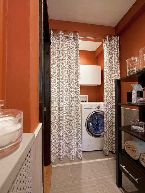 Hide Storage With Curtains Home Design Ideas Pictures