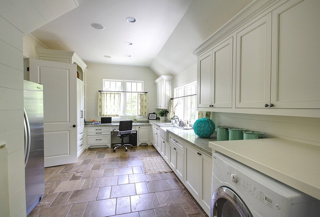 Traditional Laundry Room by Castro Design Studio