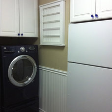 Traditional Laundry Room by Northwest Custom Interiors