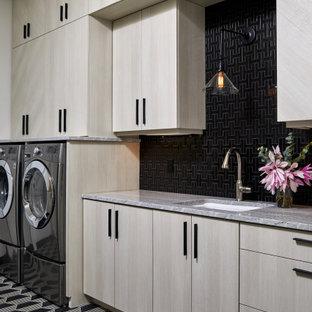 Inspiration för en funkis tvättstuga