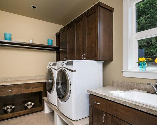 Modern Portland Laundry Room Design Ideas, Remodels & Photos