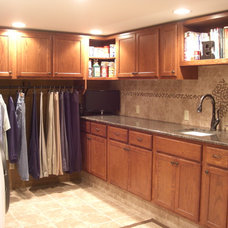 Traditional Laundry Room by West Side Lumber/ACE/Kitchen & Bath Design Center