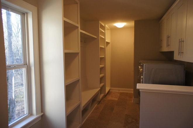 Contemporary Laundry Room by Phoenix Property Resurrections