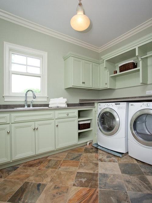 laundry room flooring design ideas remodel pictures houzz. Black Bedroom Furniture Sets. Home Design Ideas