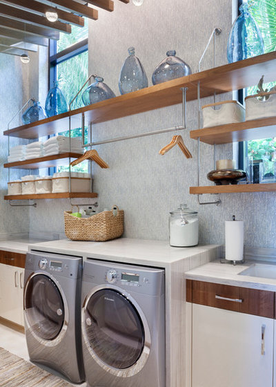 Contemporary Laundry Room by Superior Wood Products