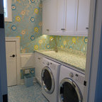 see more beach style utility room photos beach style laundry room
