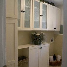 Contemporary Laundry Room by Marina V. Phillips