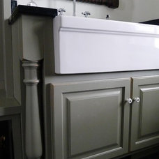 Farmhouse Laundry Room by In Home Designs, LLC