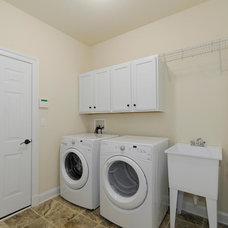 Craftsman Laundry Room by CRAIG BUILDERS