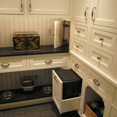 traditional laundry room by Greenleaf Construction