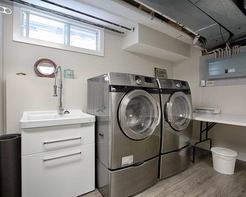 Foto e Idee per Lavanderie - lavanderia industriale lineare