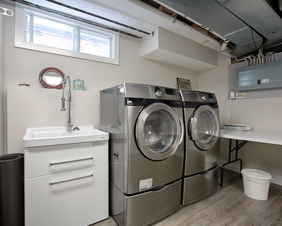 All Time Favorite Open Concept Basement Laundry Room Ideas Houzz