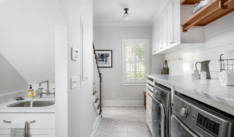 Before and After: Remodeled Laundry Room Lightens Up