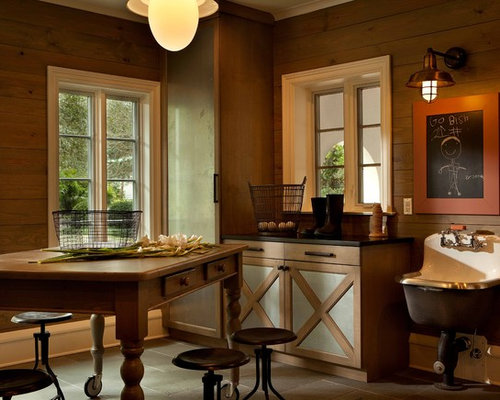 Table On Wheels Laundry Room Design Ideas, Remodels & Photos